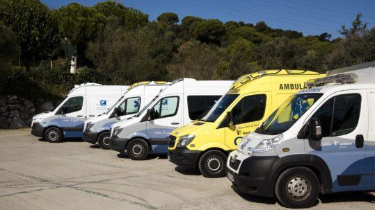 ambulancias transporte urgente