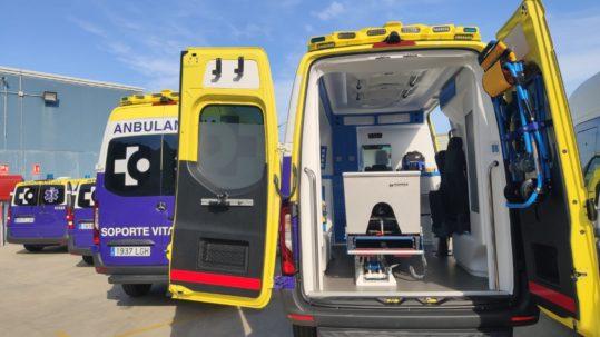 servicios en una ambulancia