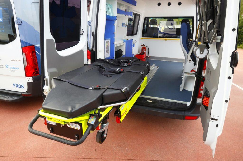 transporte sanitario urgente