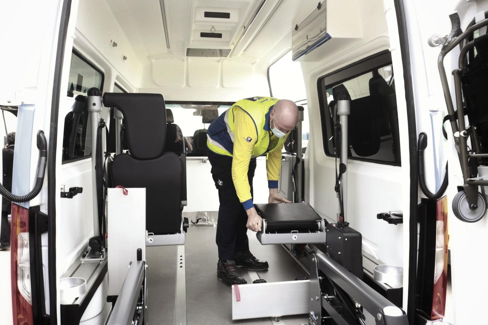 chofer de ambulancia