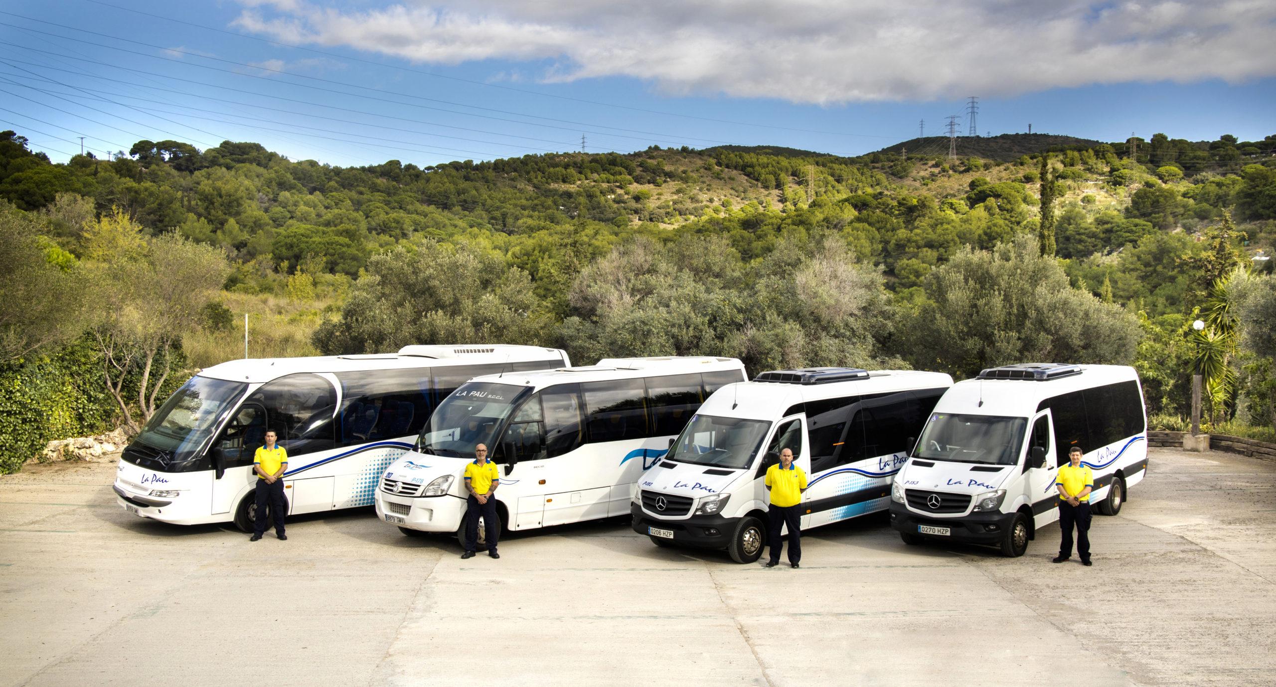 Transporte con unidades de gran capacidad