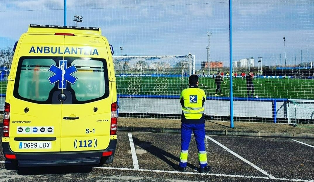 ambulancies per a esdeveniments esportius